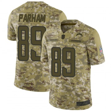 Youth Donald Parham Los Angeles Chargers Limited Camo 2018 Salute to Service Jersey