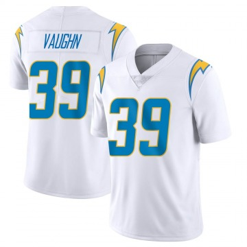 Youth Donte Vaughn Los Angeles Chargers Limited White Vapor Untouchable Jersey