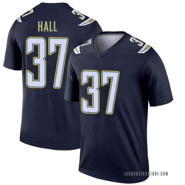 Youth Kemon Hall Los Angeles Chargers Legend Navy Jersey