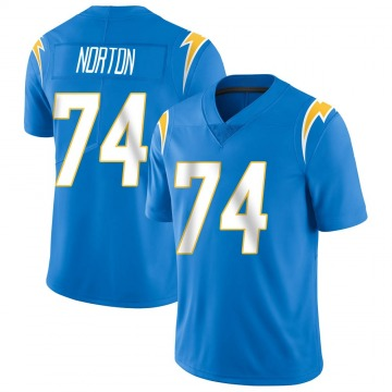 Youth Storm Norton Los Angeles Chargers Limited Blue Powder Vapor Untouchable Alternate Jersey