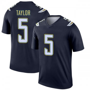 Youth Tyrod Taylor Los Angeles Chargers Legend Navy Jersey